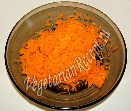 морковь для котлет из чечевицы