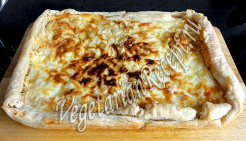 пирог с квашеной капустой готов