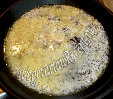 приготовление риса с маком
