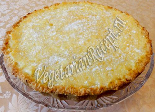 рисовый пирог готов