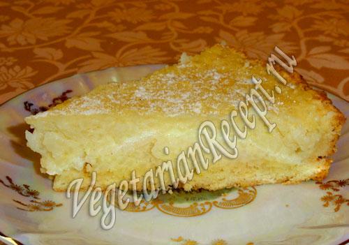 рисовый пирог рецепт
