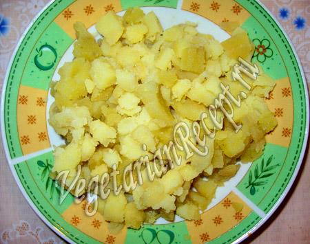 картошка для салата Подкова