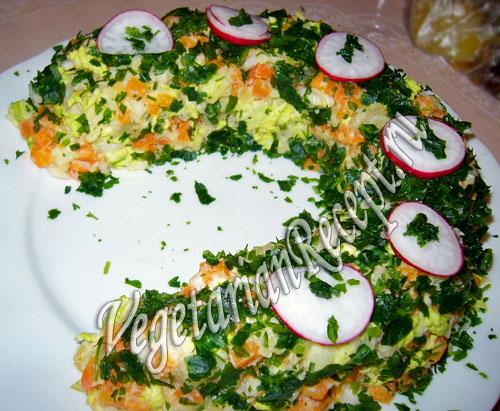салат подкова