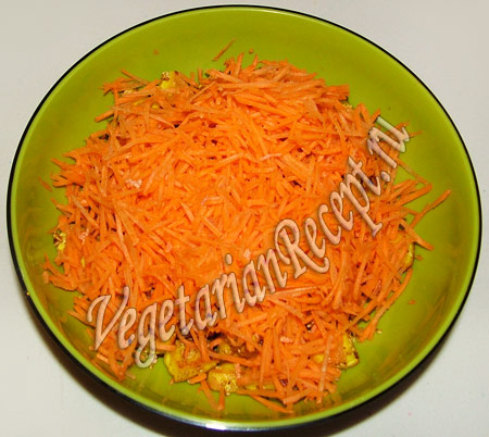 морковь для салата с адыгейским сыром