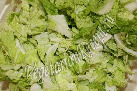 салат порезанный