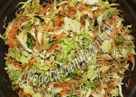 салат из капусты рецепт с фото