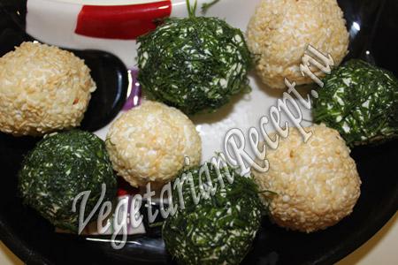 шарики из брынзы рецепт