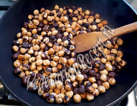 сладости со сгущенкой - жареные орехи
