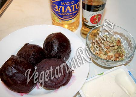 продукты для свекольного салата