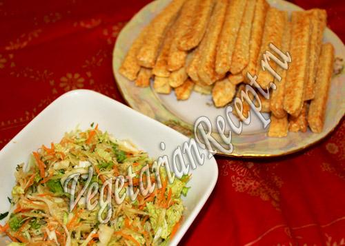 сырные палочки с кунжутом рецепт
