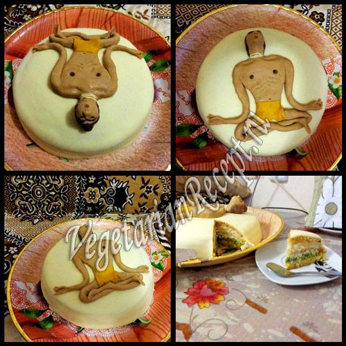 Нирвана - торт из мастики своими руками