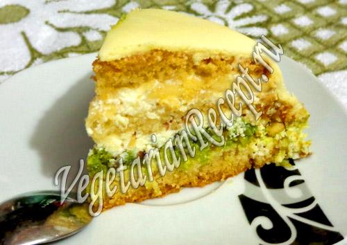 торт из мастики в разрезе