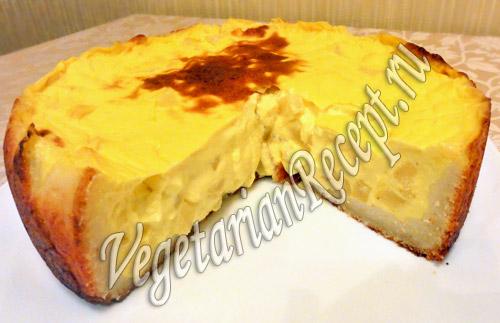 торт пудинг рецепт