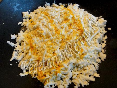 приготовление соуса для запеченного отварного картофеля
