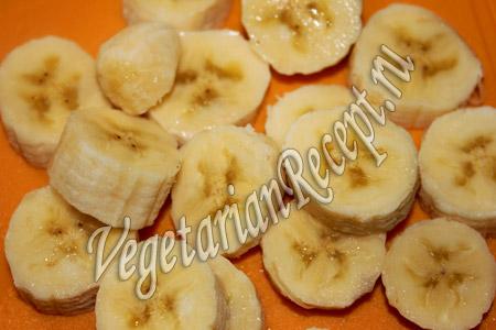 зеленый смузи - бананы