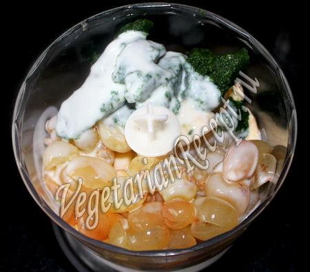 зеленый смузи - йогурт
