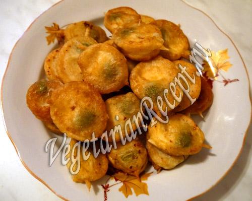 оливки с сыром в тесте