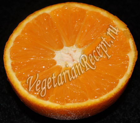 кофе с апельсином - апельсин