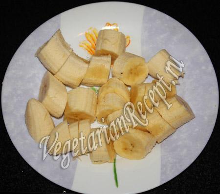 коктейль с кокосовым молоком - бананы