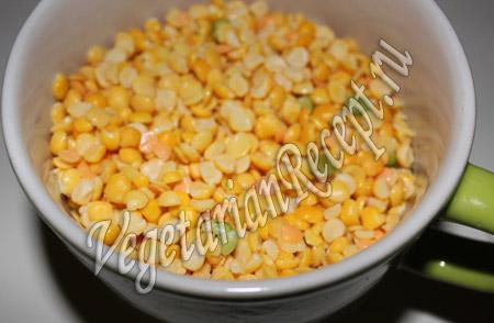 горох для крем супа