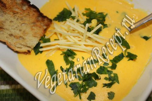 крем-суп гороховый