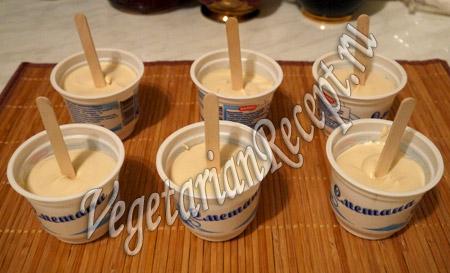 мороженое с тростниковым сахаром гур