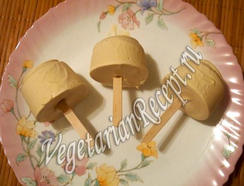 мороженое с тростниковым сахаром
