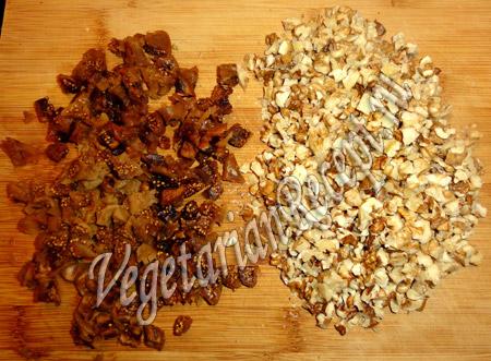 инжир и грецкие орехи