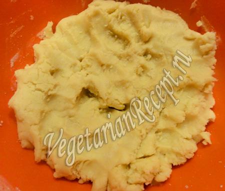 тесто для печенья с инжиром