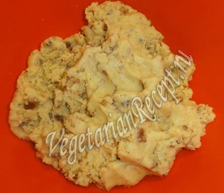 песочное тесто для печенья с грецкими орехами