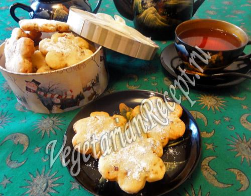 печенье с инжиром и грецкими орехами