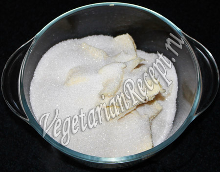печенье сердечки - сахар и масло