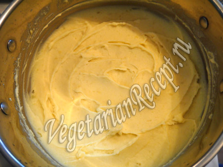 картофельное пюре для пирога