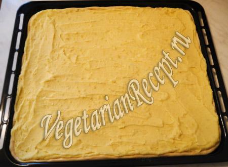 пирог из картофельного пюре - рецепт