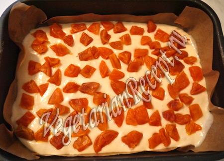 приготовление пирожных - курага