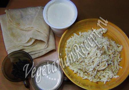 продукты для питы с сыром