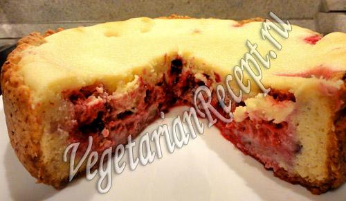 Рецепт налианого пирога с фруктами