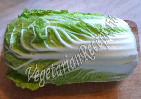 капуста для салата с нори