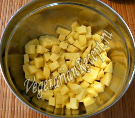 салат с нори - картофель