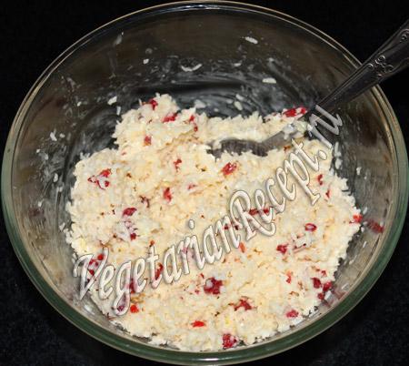 смесь для приготовления сладких шариков