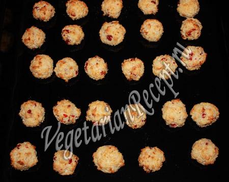 запеченные сладкие шарики