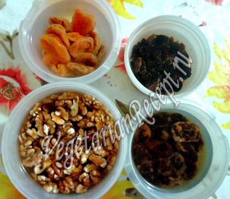 продукты для сыроедного торта