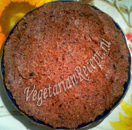 сыроедный торт - шаг 3