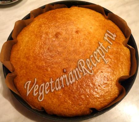 бисквит для торта с киви