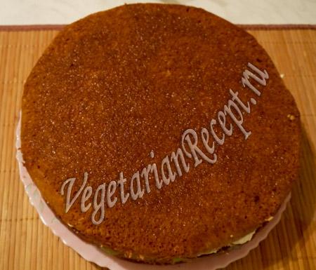 торт с киви - третий корж
