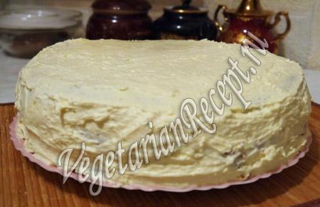 торт с киви в креме