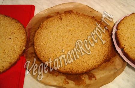 коржи для торта с киви