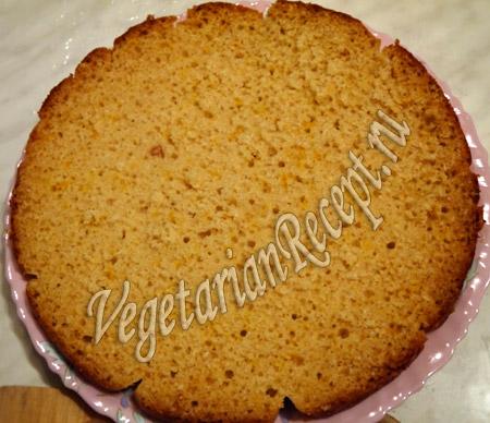 корж для торта с киви