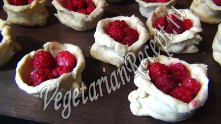 лукошко с ягодами рецепт