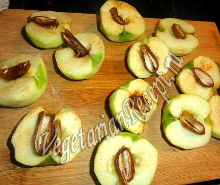 яблоки для творожного пирога